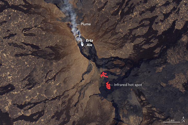 Fissure Eruptions on Erta Ale