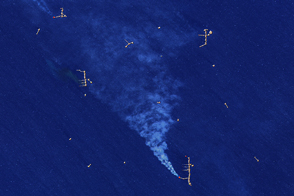 Gas Flares in the Gulf
