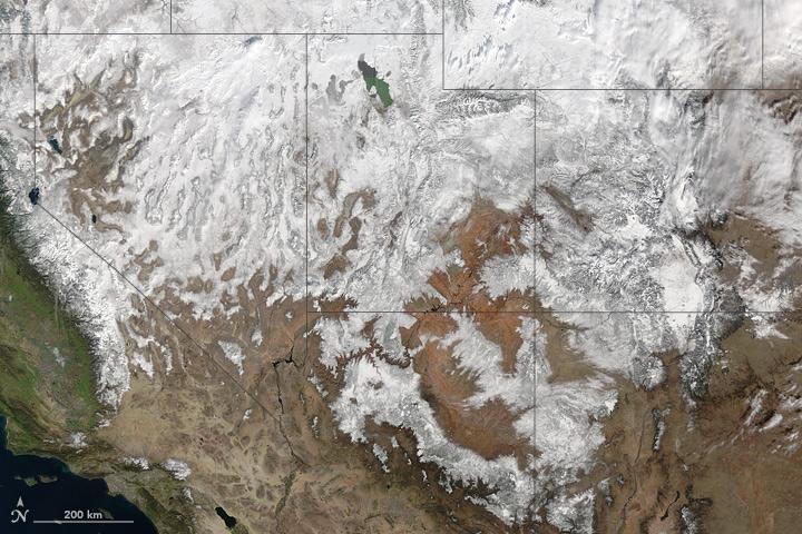 Snow Across the Southwest