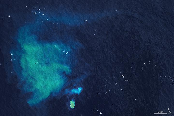 Underwater Eruption Near Tongatapu