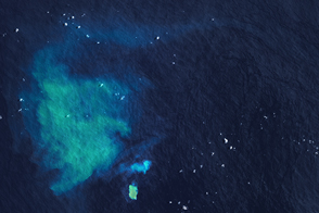 Underwater Eruption Near Tongatapu