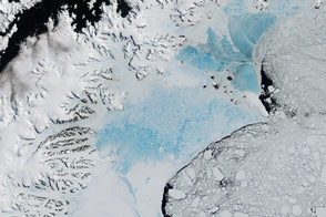 Antarctica's Changing Larsen Ice Shelf