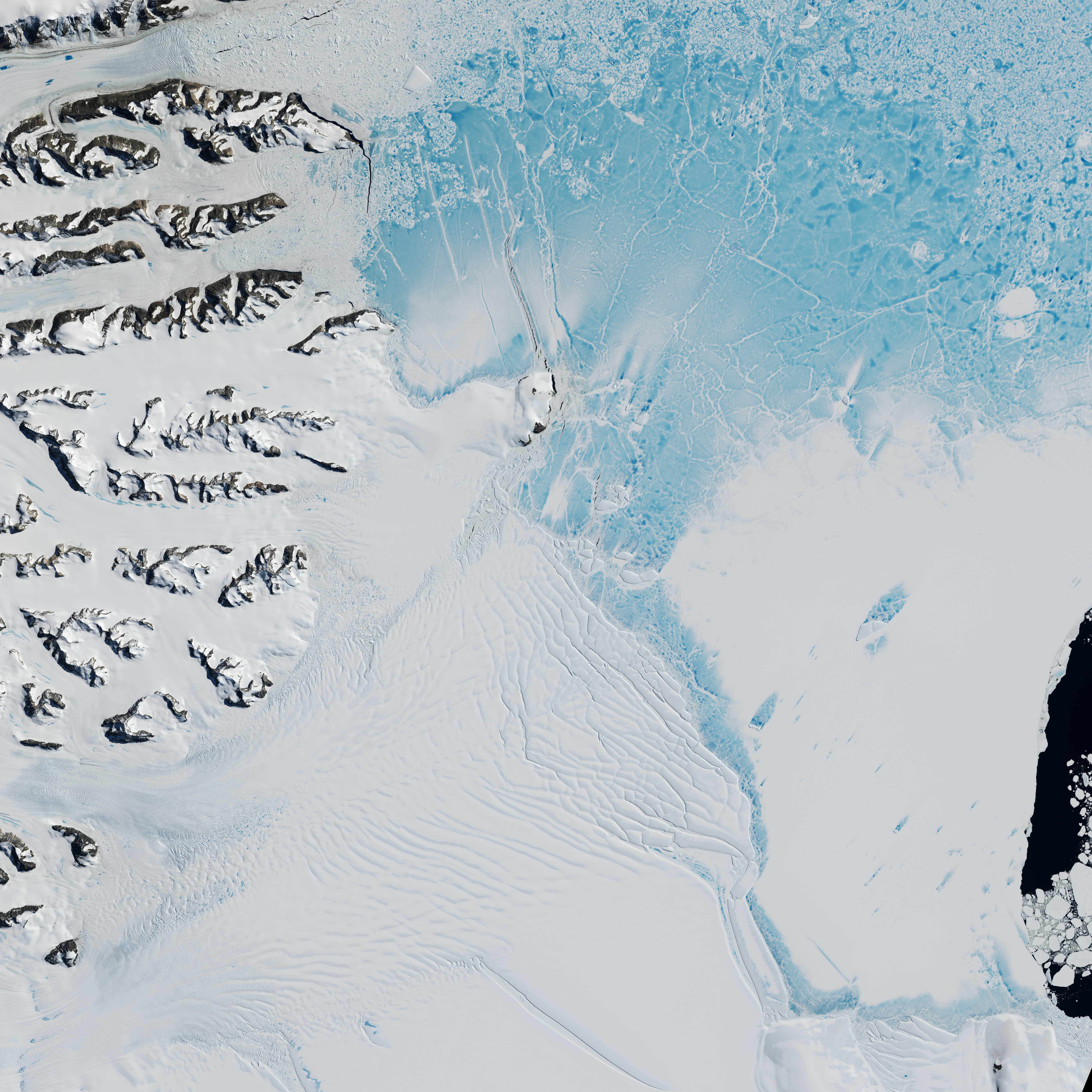 Antarctica's Changing Larsen Ice Shelf - related image preview