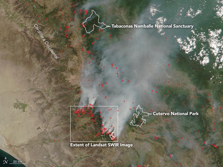 Finding Fires in Peru