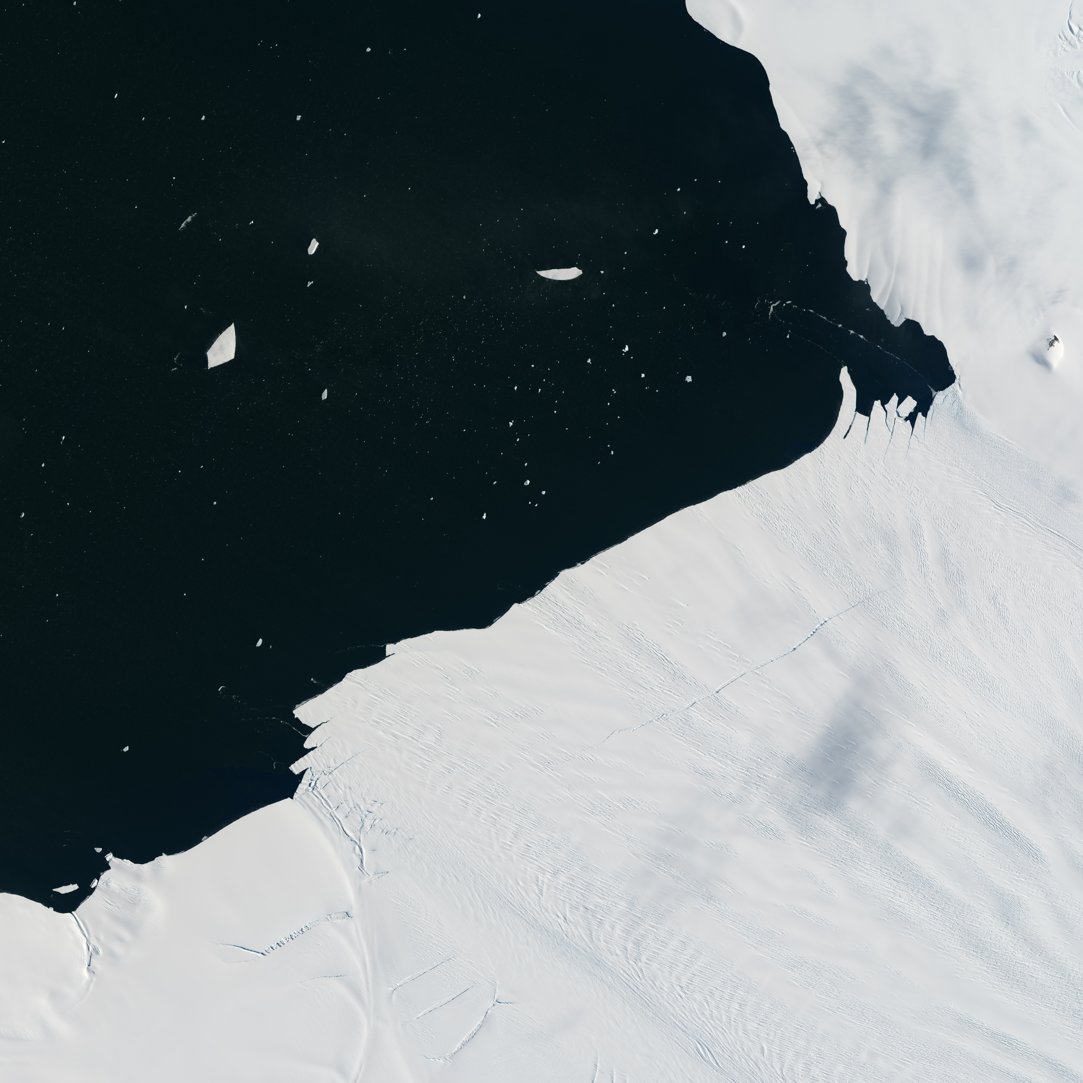 "Glacial ""Aftershock"" Spawns Antarctic Iceberg - related image preview"