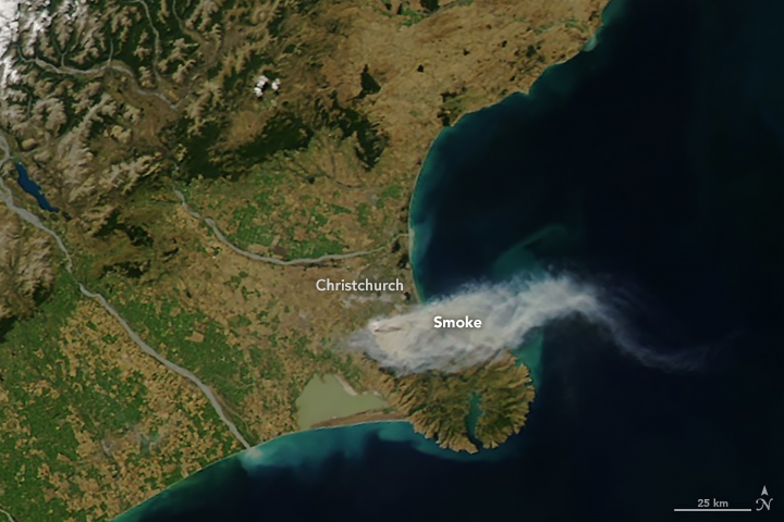 Fires Threaten Christchurch