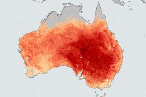 Heat Wave Breaks Records in Australia