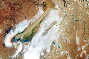 Flood Waters Reach Kati Thanda–Lake Eyre