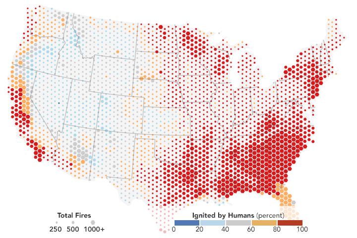 People Cause Most U.S. Wildfires - related image preview
