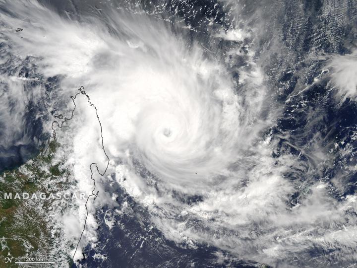 Tropical Cyclone Enawo