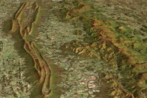 Contrasting Ridges in Virginia
