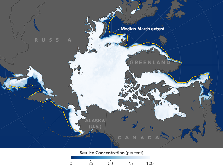 Polar Sea Ice at Record Lows - related image preview