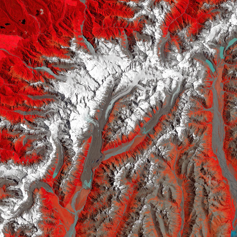 Tasman Glacier Retreats - related image preview
