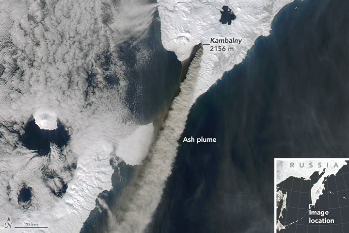 Russian Volcano Rumbles - related image preview