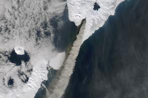 Russian Volcano Rumbles