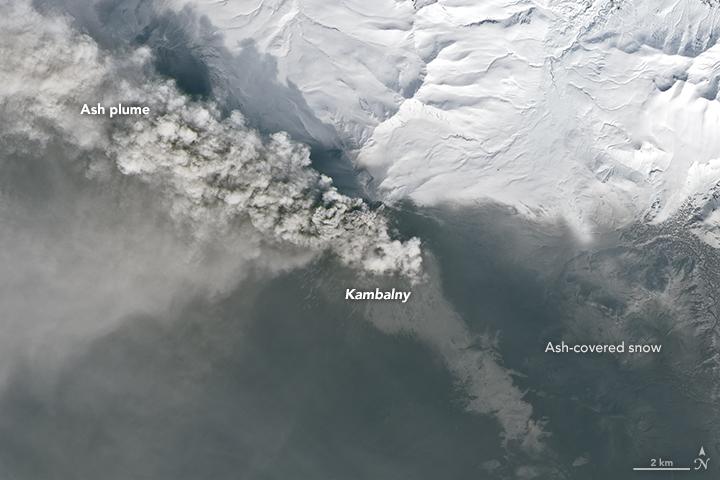 Ash and Snow at Kambalny