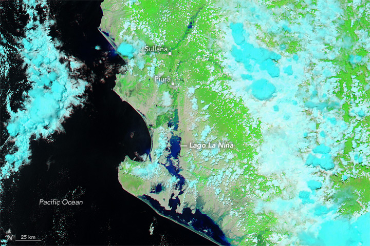 Flood Waters Inundate Coastal Peru