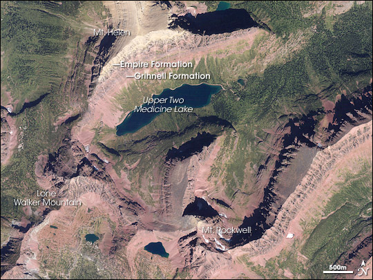 Red Rocks in Glacier National Park - related image preview