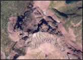 Red Rocks in Glacier National Park