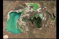 Tengiz and Korgaljinski Lakes, Kazakhstan