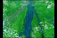 Floods Cover Bihar, India