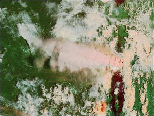 Nyiragongo Volcano Erupts in the Congo