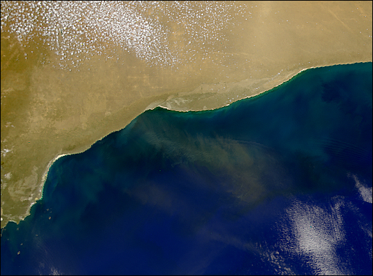 Dust Over Great Australian Bight