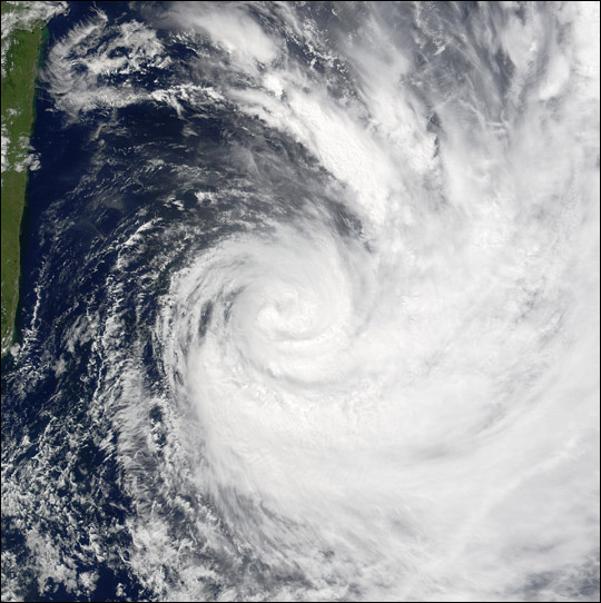 Cyclone Hary Off Madagascar