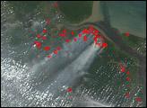 Fires and Heavy Smoke in Sumatra