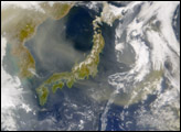 Dust Cloud over Sea of Japan - selected child image