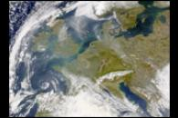 Haze and Pollution over Western Europe