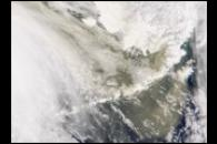Asian Dust Reaches Alaska