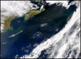 Dust over North Atlantic Ocean - selected child image