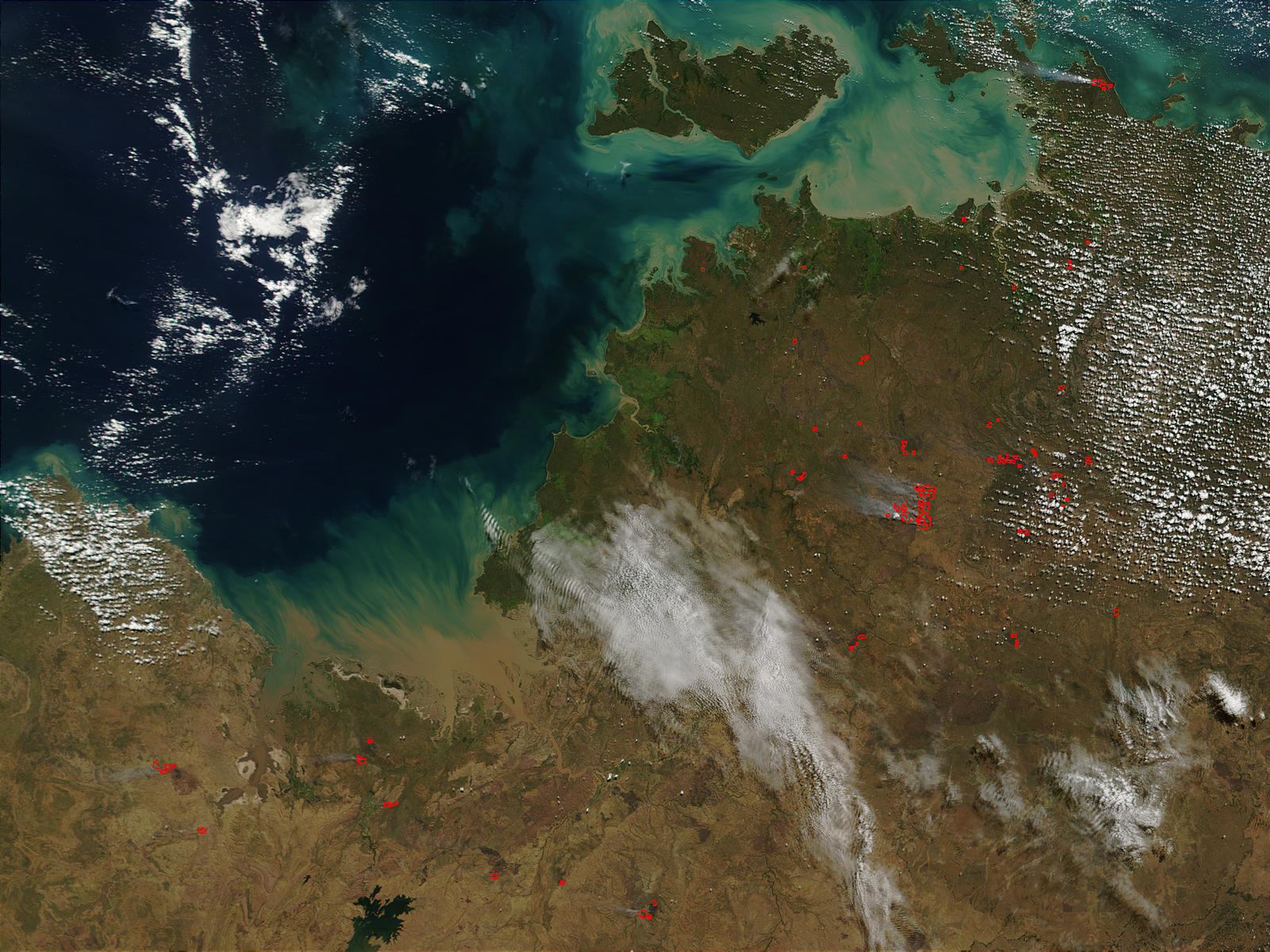 Wildfires in Northern Australia - related image preview