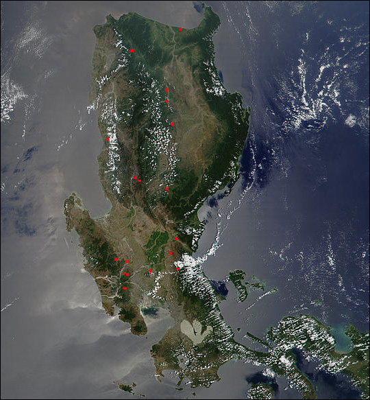 Fires in the Philippines
