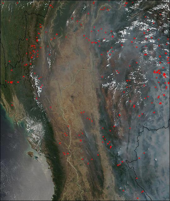 Biomass Burning in Southeast Asia