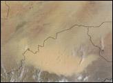 Dust Storm in Burkina Faso