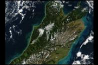 Phytoplankton Bloom Around New Zealand