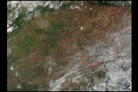 Fires in Venezuela