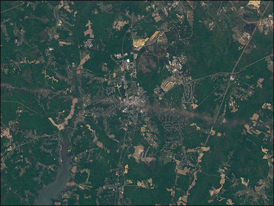 Tornado Hits La Plata, Maryland