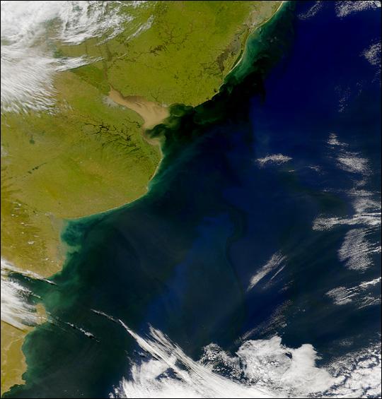 Dark Water near Rio de la Plata - related image preview