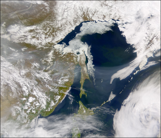 Fire and Ice in Northeast Asia - related image preview