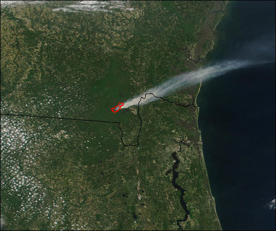 Okefenokee Fire Map.Blackjack Bay Fire In Okefenokee Refuge