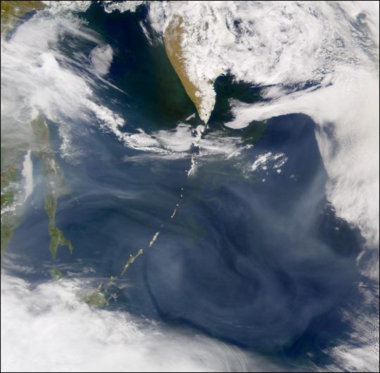 Smoke from Eastern Russia