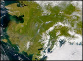 Fires and Heavy Smoke in Alaska