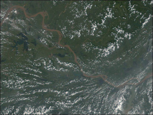 Flooding in Central China