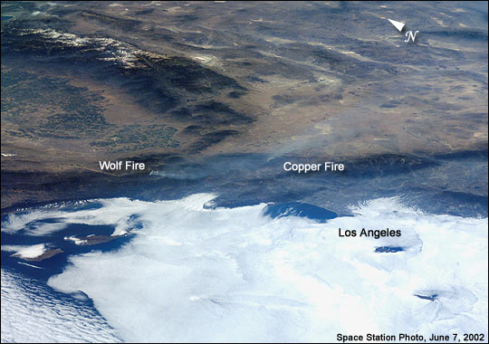 Wolf and Copper Fires Near Los Angeles - related image preview