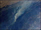 Wolf and Copper Fires Near Los Angeles - selected image