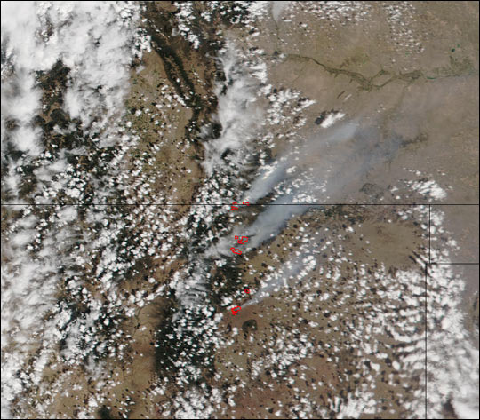 Middle Ponil Complex Fire, New Mexico