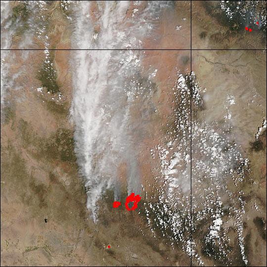 Rodeo and Chediski Fires in Arizona